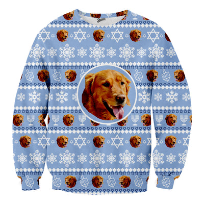 Custom Pet Hanukkah Sweater - Shweeet