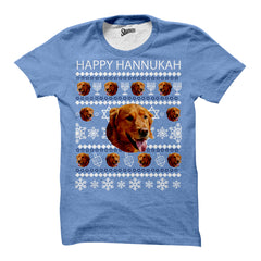 Custom Hanukkah Pet T-shirt