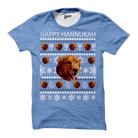 Custom Hanukkah Pet T-shirt - Shweeet