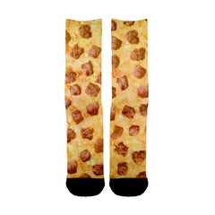 Image of Hawaiian Pizza Socks