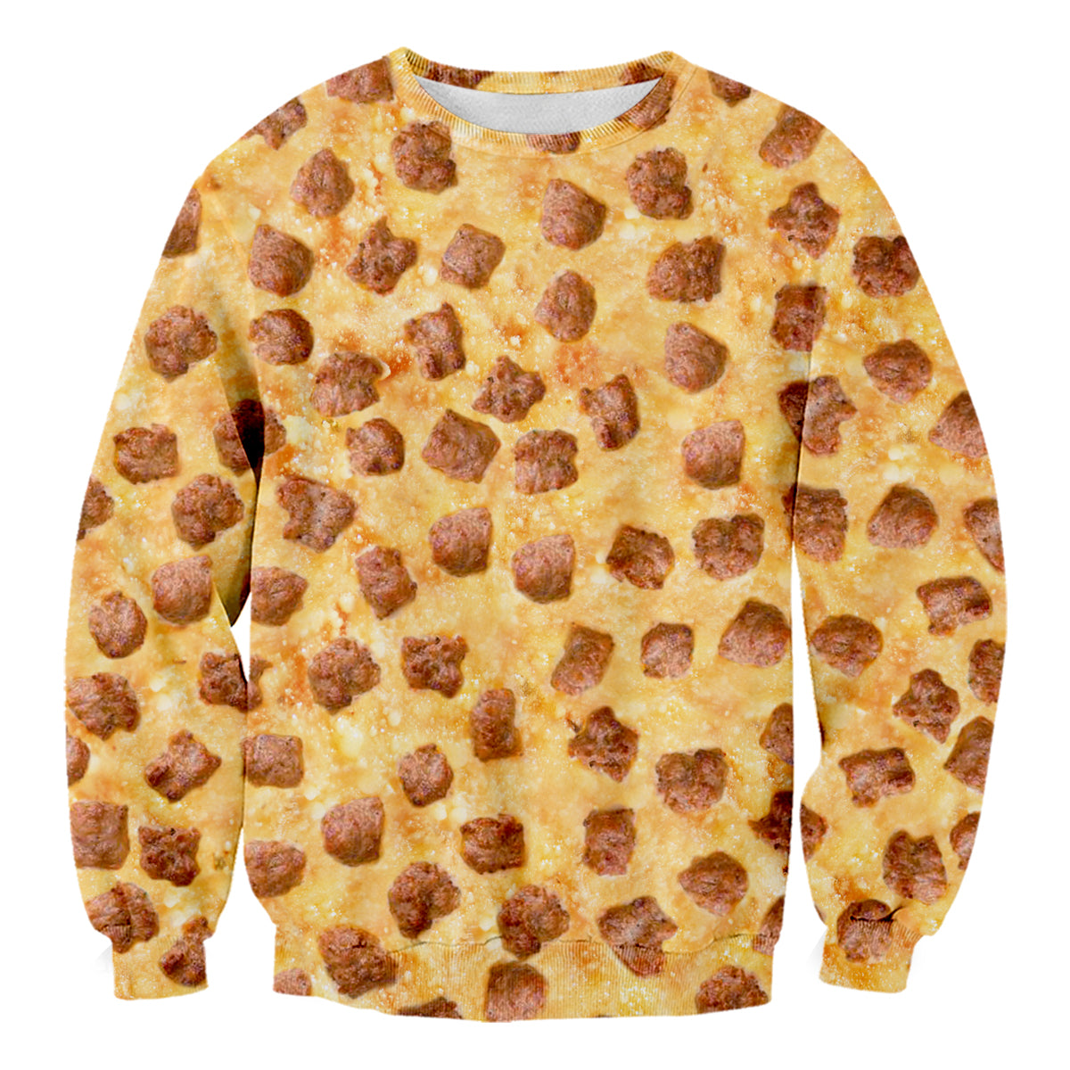 Hawaiian Pizza Sweater