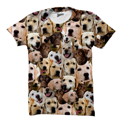 Labrador Retriever Faces Shirt - Shweeet