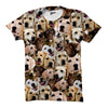 Image of Labrador Retriever Faces Shirt - Shweeet