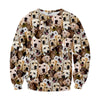 Image of Labrador Retriever Faces Sweater