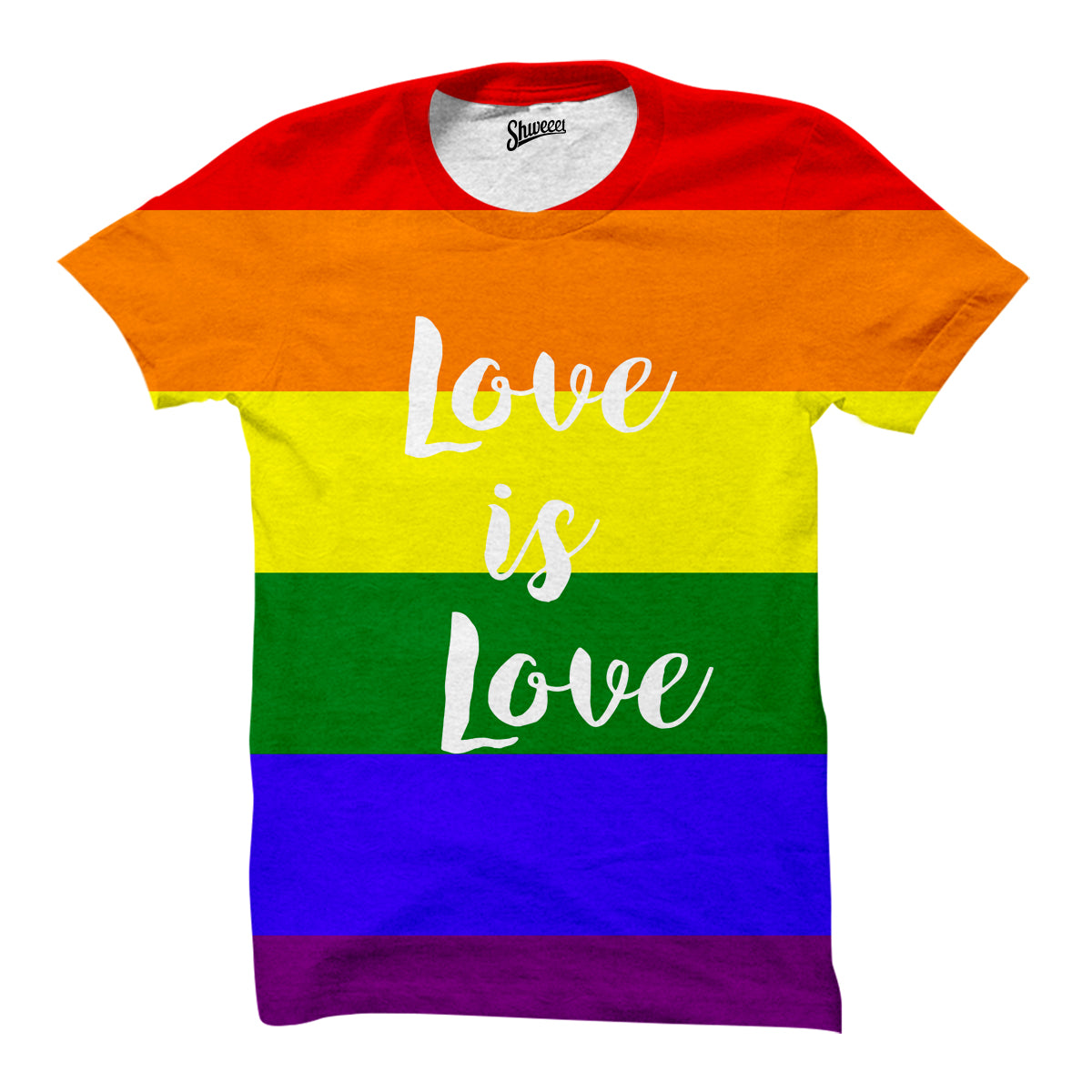 Love Is Love Rainbow LGBT Racerback tank top