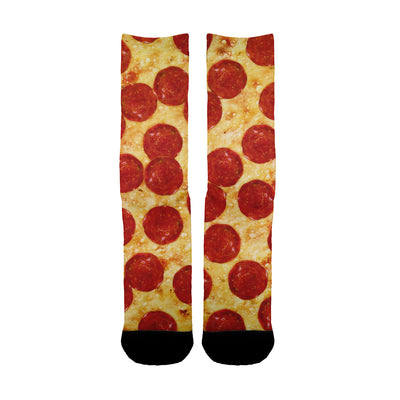 Pepperoni Pizza Socks - Shweeet