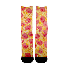 Sausage Pizza Socks
