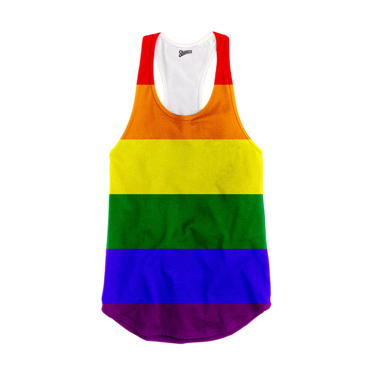 Rainbow Racerback Tank Top