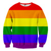 rainbow lgbt sweater