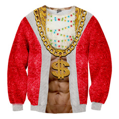 Lit Santa Christmas Sweater - Shweeet