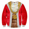 Image of Lit Santa Christmas Sweater - Shweeet
