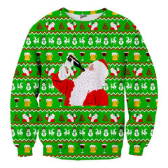 Drunk Santa Christmas Sweater