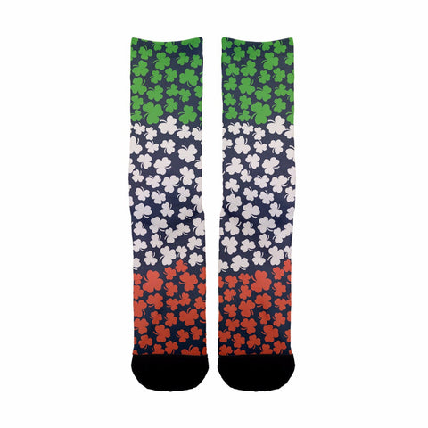Irish Clover Socks