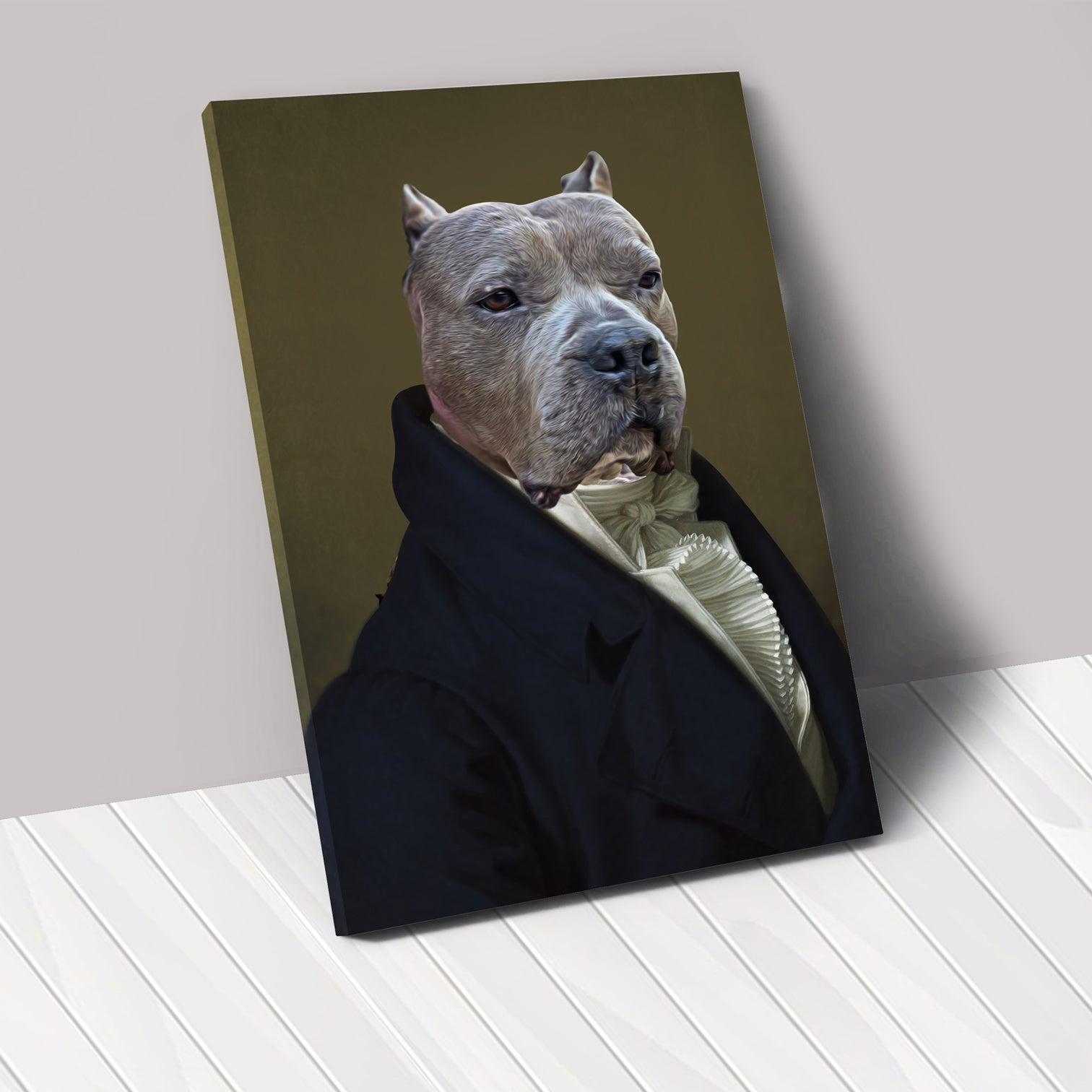 THE AMBASSADOR - Renaissance Pet Portrait