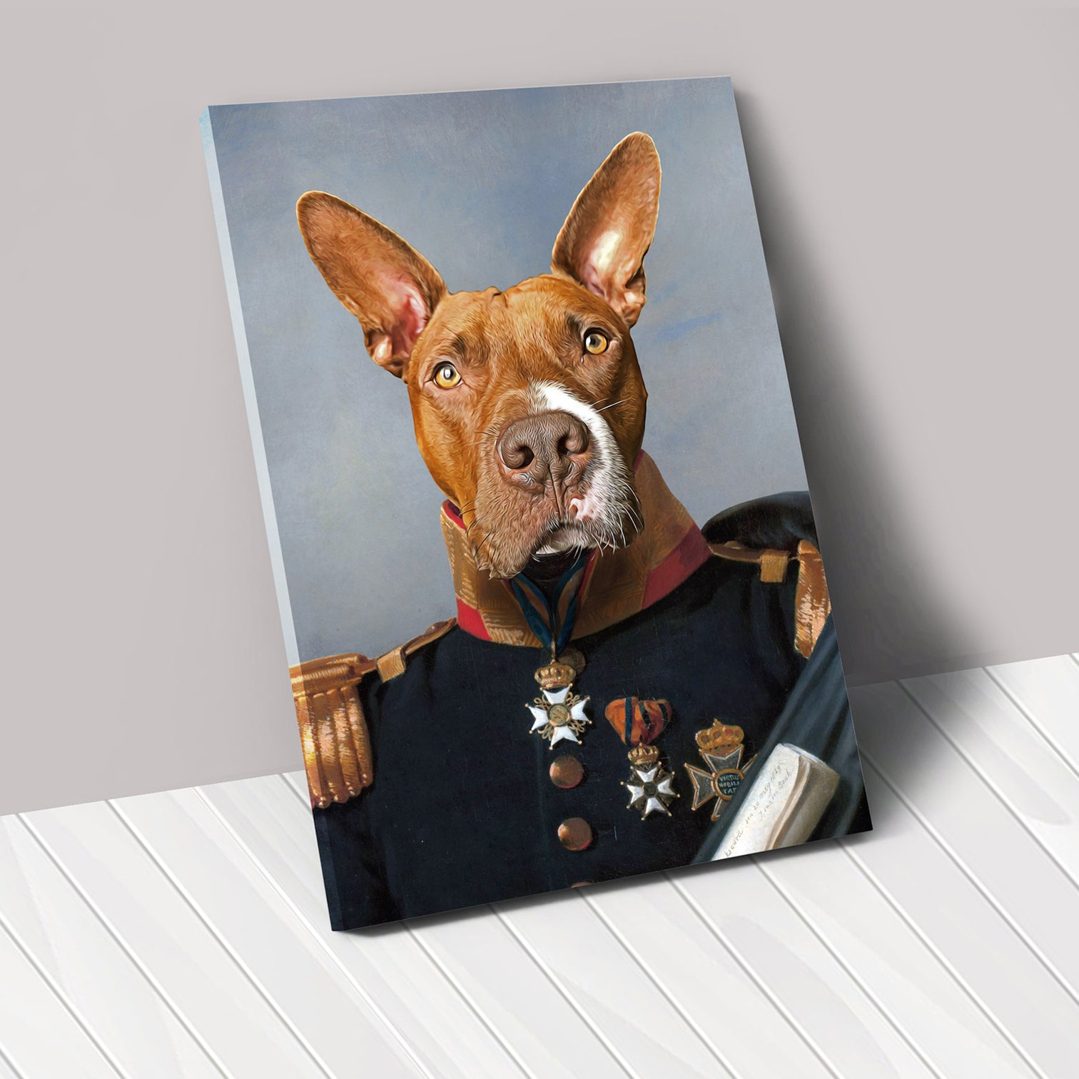 THE CAPTAIN - Renaissance Pet Portrait