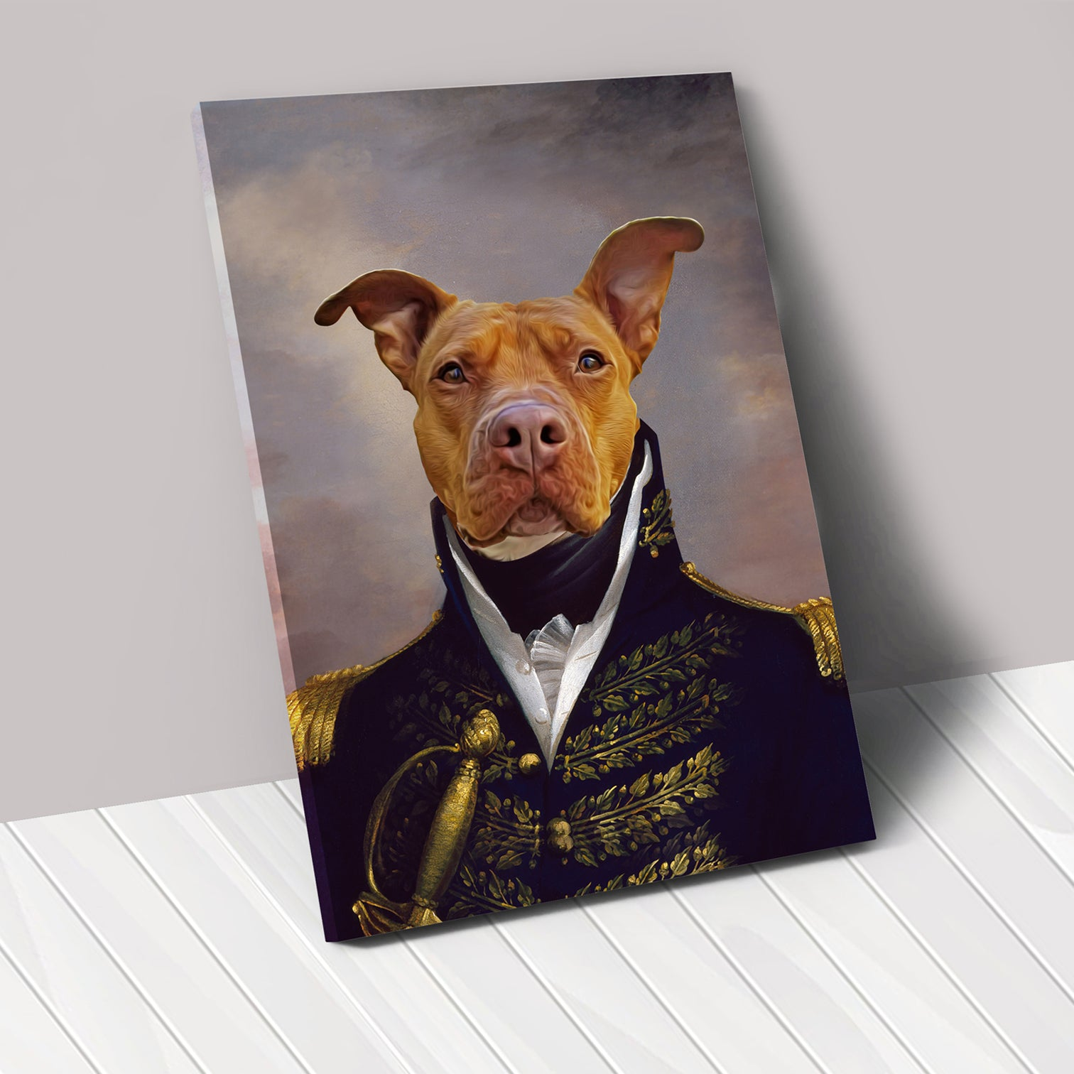 THE COUNT - Renaissance Pet Portrait