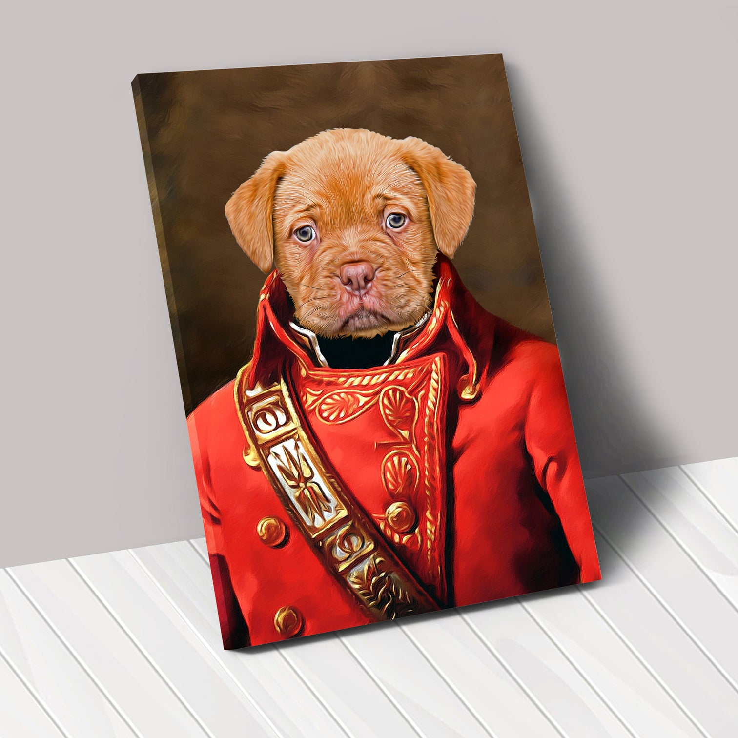THE GENERAL - Renaissance Pet Portrait