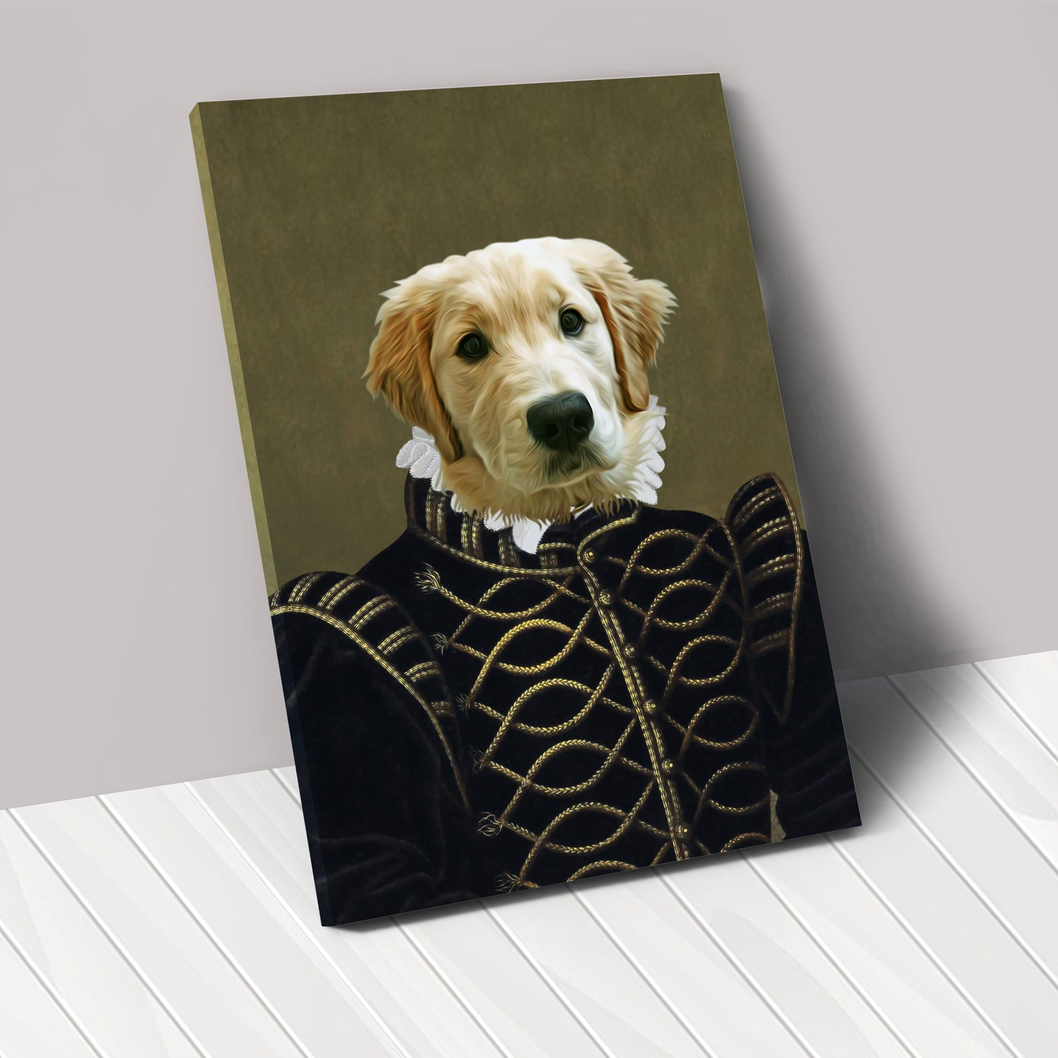 THE NOBLE - Renaissance Pet Portrait