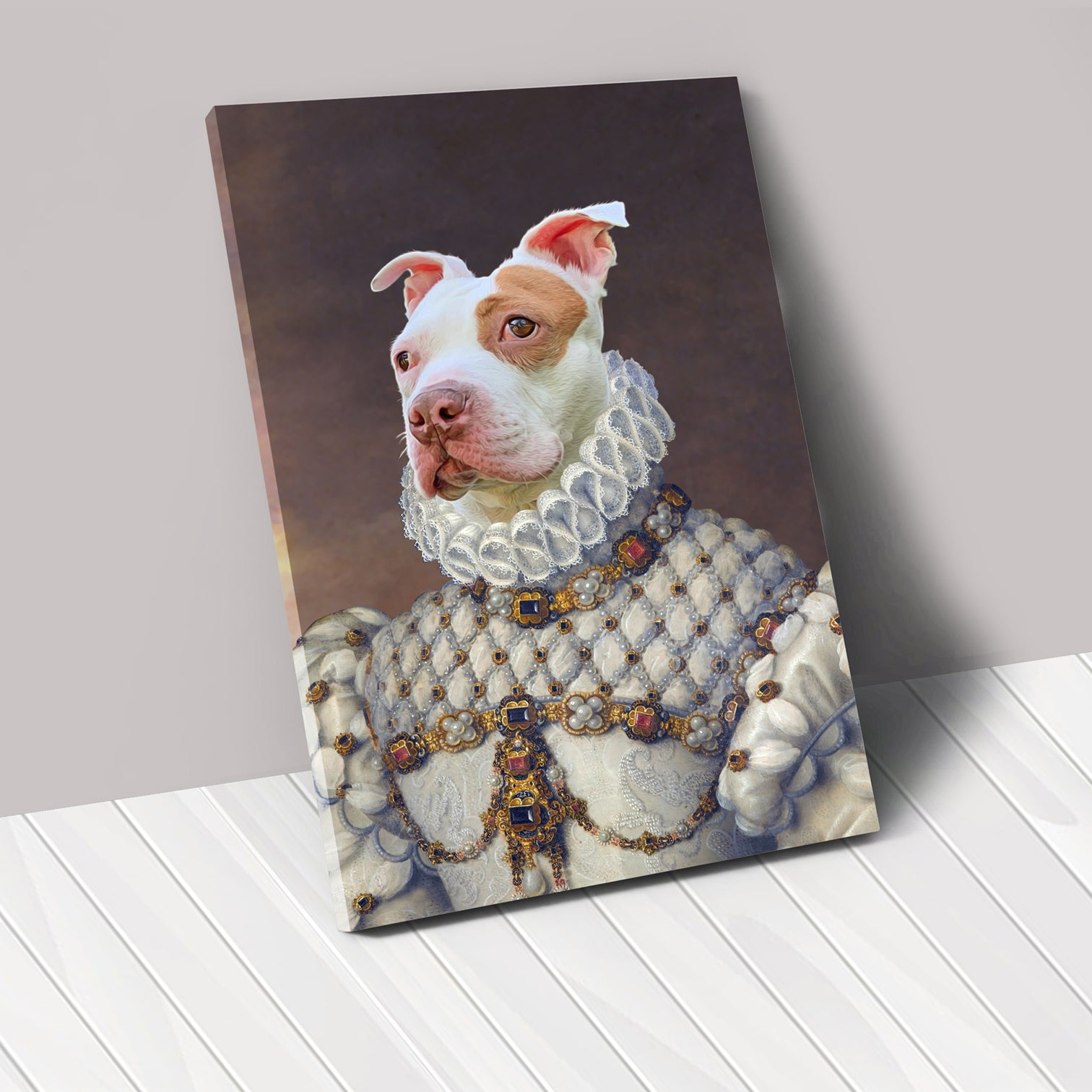 THE PRINCESS - Renaissance Pet Portrait