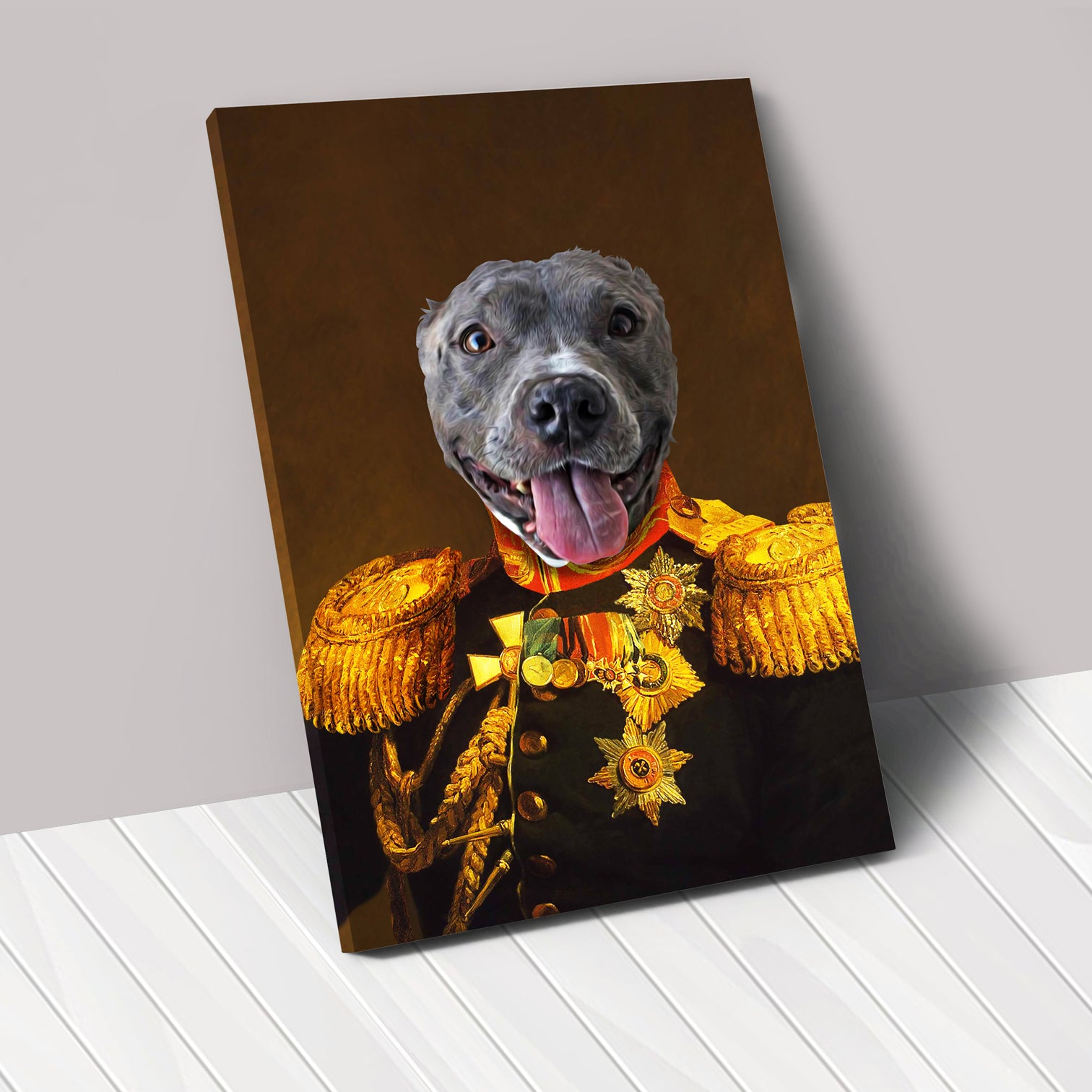 THE VETERAN - Renaissance Pet Portrait