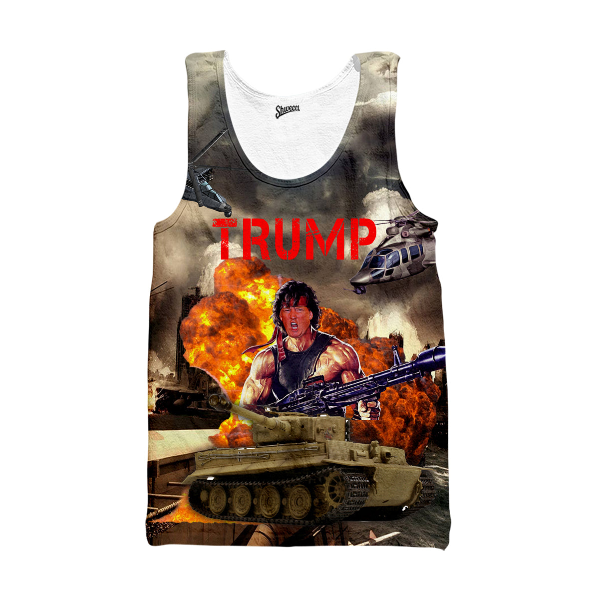 Trump Tank top - Shweeet