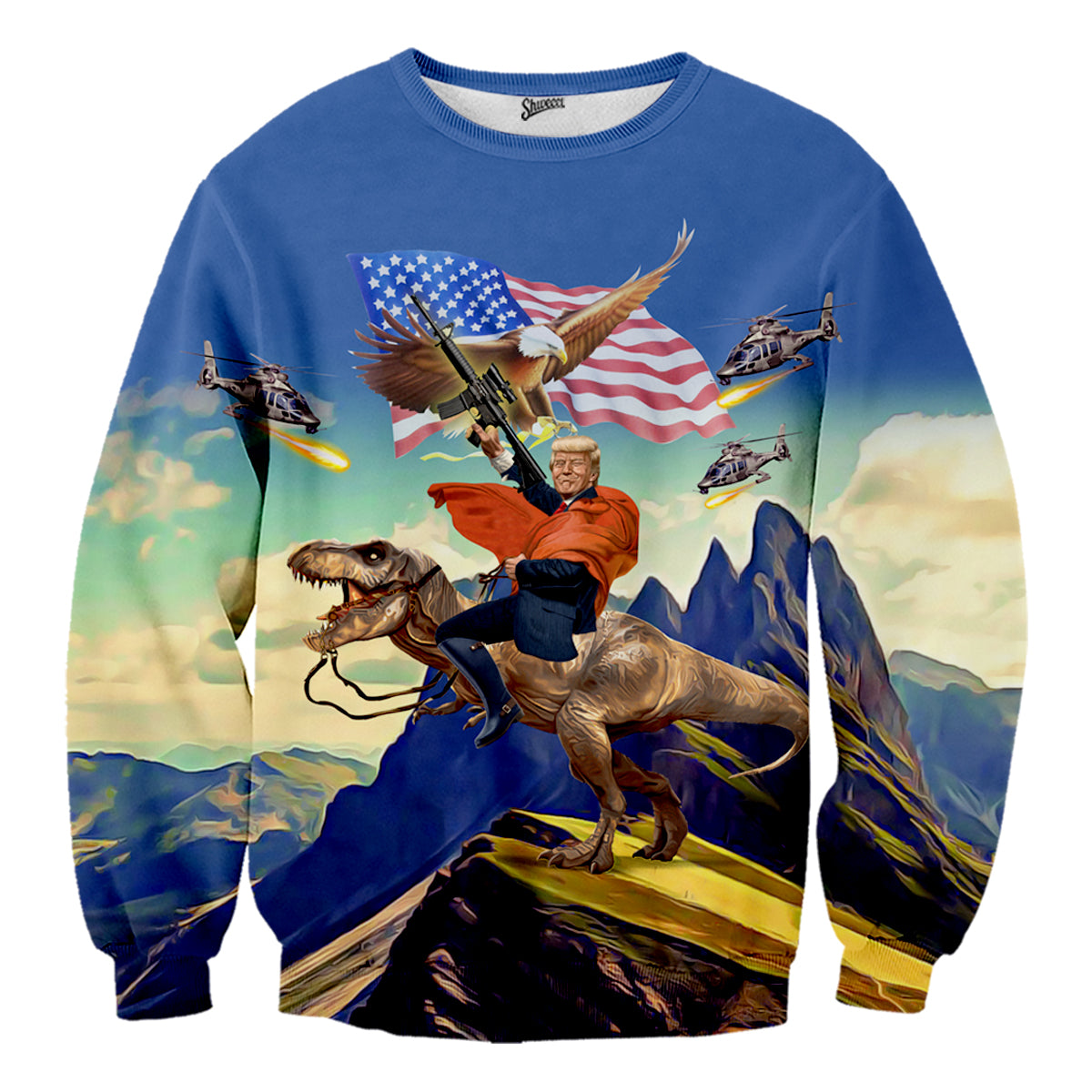 Donald Trump T Rex Sweater - Shweeet