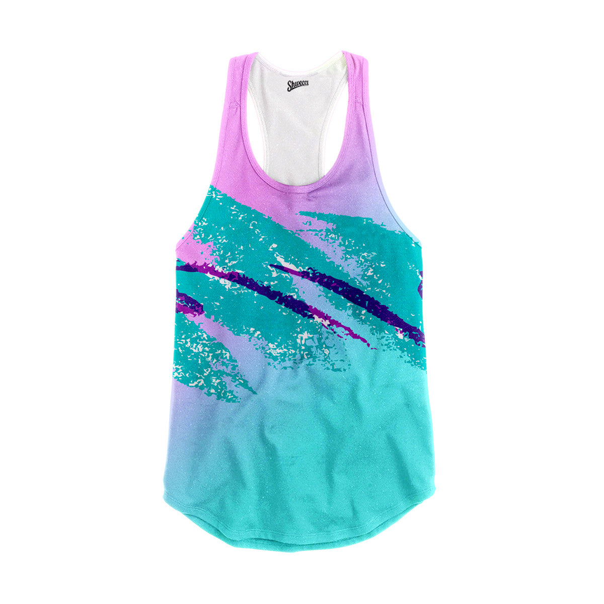 Jazz Paper Cup Racerback Tank Top - Shweeet