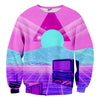 Vaporwave TV Sweater - Shweeet