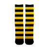 Yellow Strips Socks - Shweeet