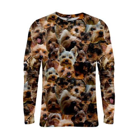 Yorkshire Terrier Faces Long Sleeve T-shirts - Shweeet