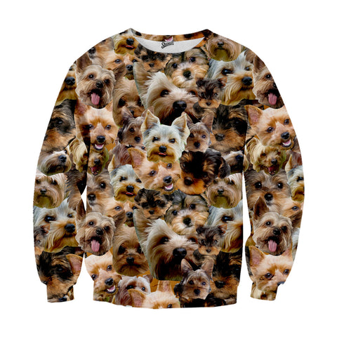 Yorkshire Terrier Faces Sweater
