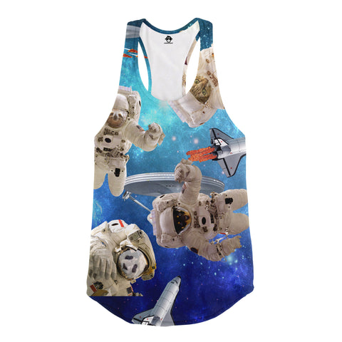 Space Animals Racerback Tank Top - Shweeet
