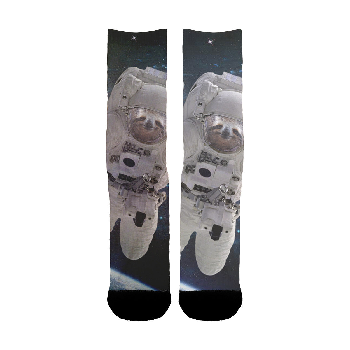 Sloth Astronaut Socks