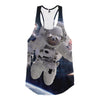 Image of Astronaut Sloth Racerback Tank - Shweeet