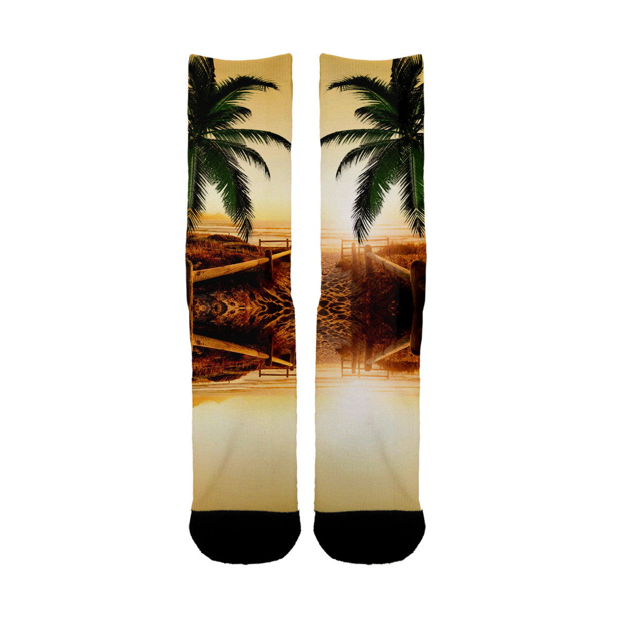 Beach Sun Set Socks