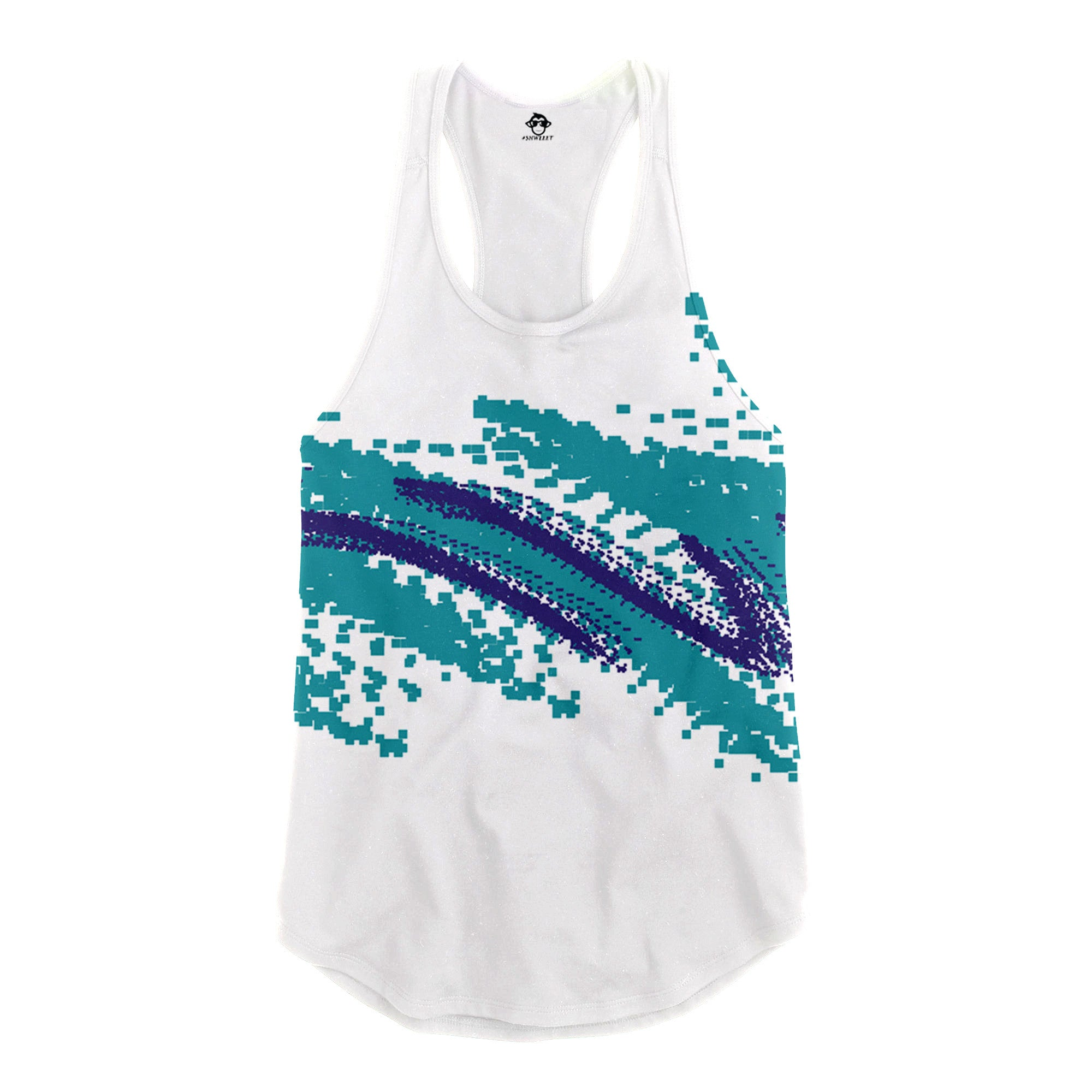 Paper Cup Racerback Tank Top - Shweeet