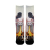 Cat Fire People Socks - Shweeet