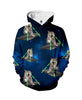 Image of Galaxy Cats Attack Hoodie - Shweeet
