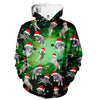 Image of Galaxy Christmas Cats Hoodie - Shweeet