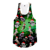 Galaxy Christmas Cats Racerback Tank Top - Shweeet