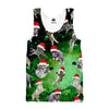 Galaxy Christmas Cats Tank top - Shweeet