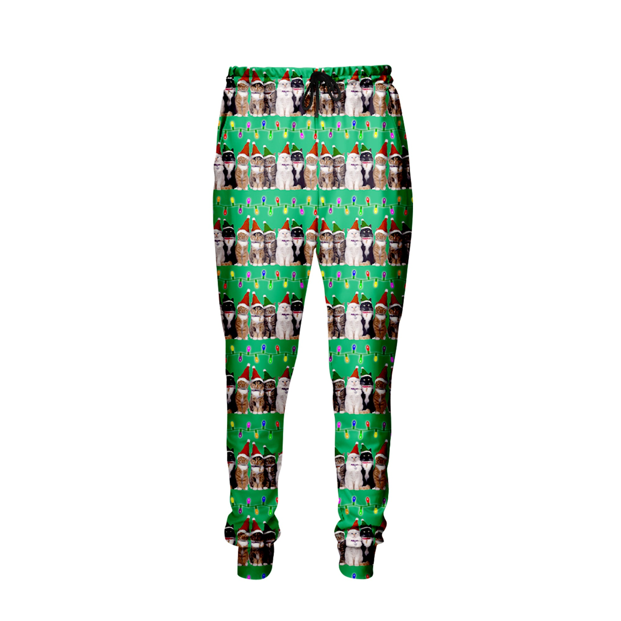 Christmas Cat Jogger Pants SALE