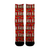Christmas Cat Red Socks - Shweeet