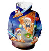 Image of Christmas Cat Pizza Hoodie - Shweeet