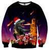 Image of T-Rex Christmas Sweater - Shweeet