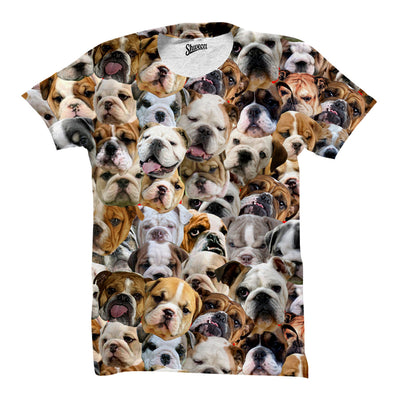 Bulldogs Faces shirt - Shweeet