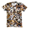 Image of Bulldogs Faces shirt - Shweeet
