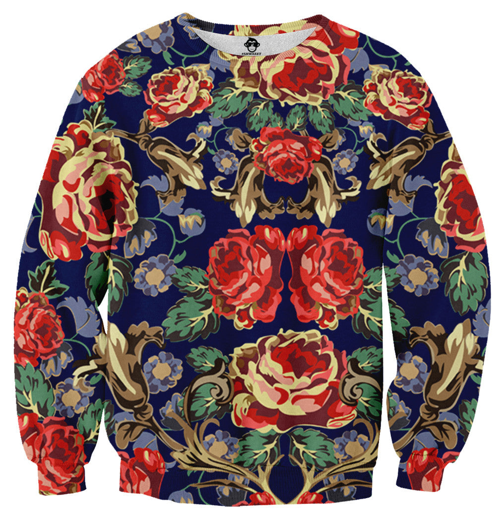 Floral Sweater - Shweeet
