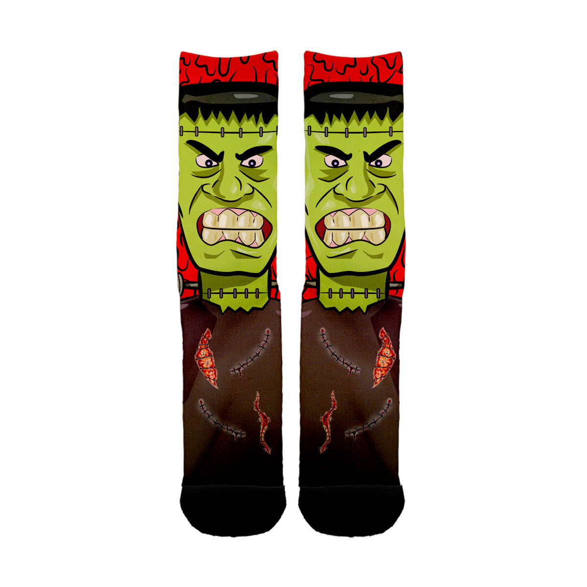 Frankenstein Face Socks - Shweeet