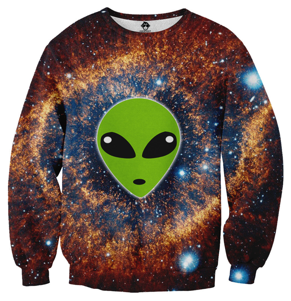 Galaxy Alien Sweater - Shweeet